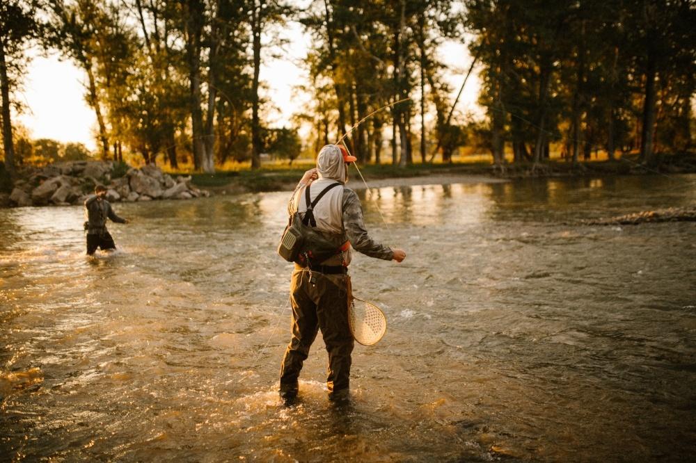 Fall fly fishing in Bozeman, Montana