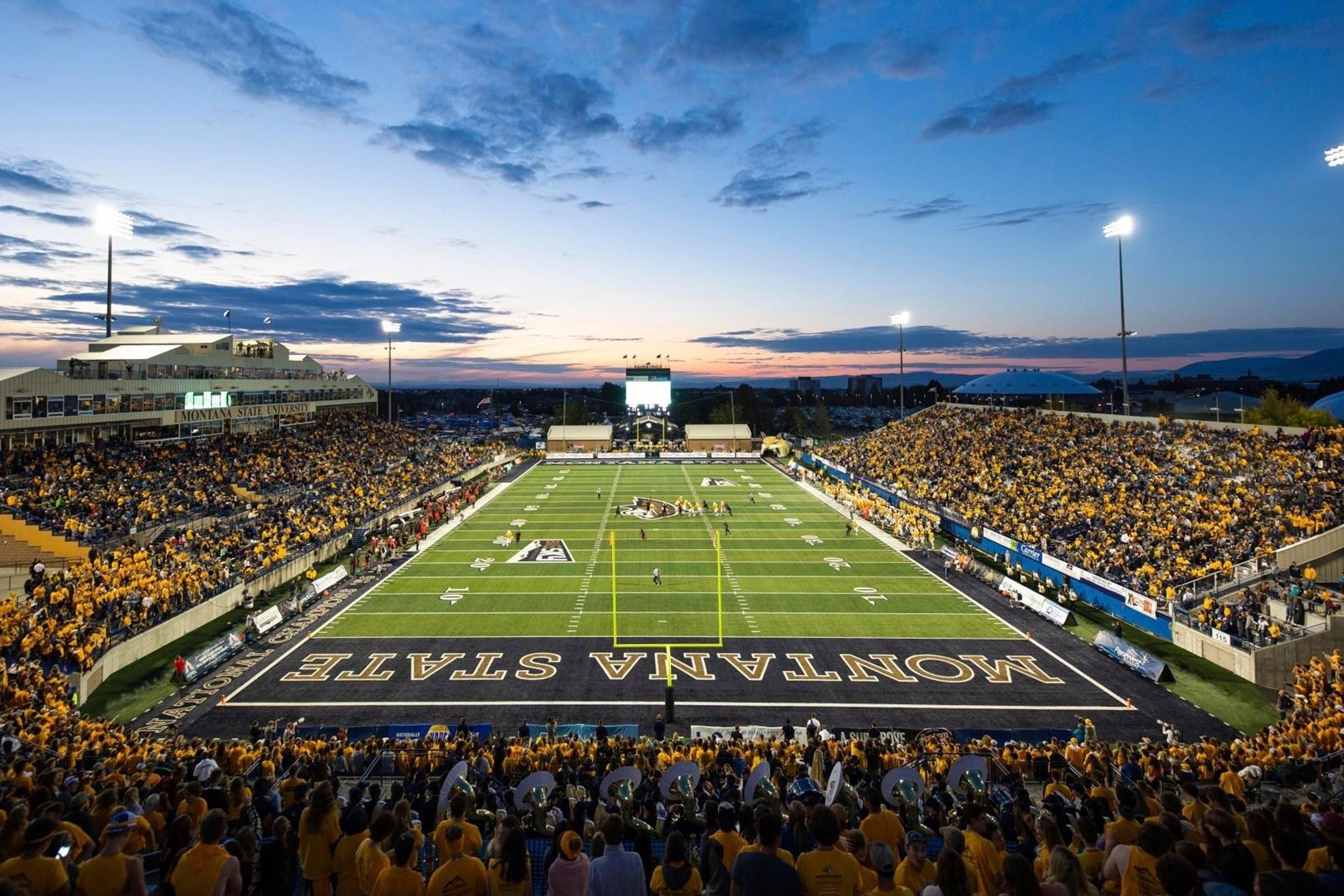 The Montana State University Football Stadium