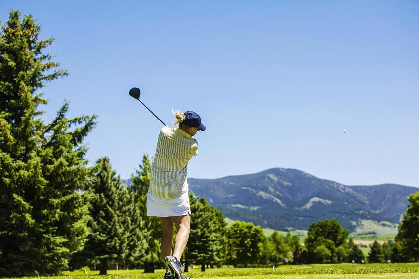 Bridger Creek Golf Course in Bozeman, Montana