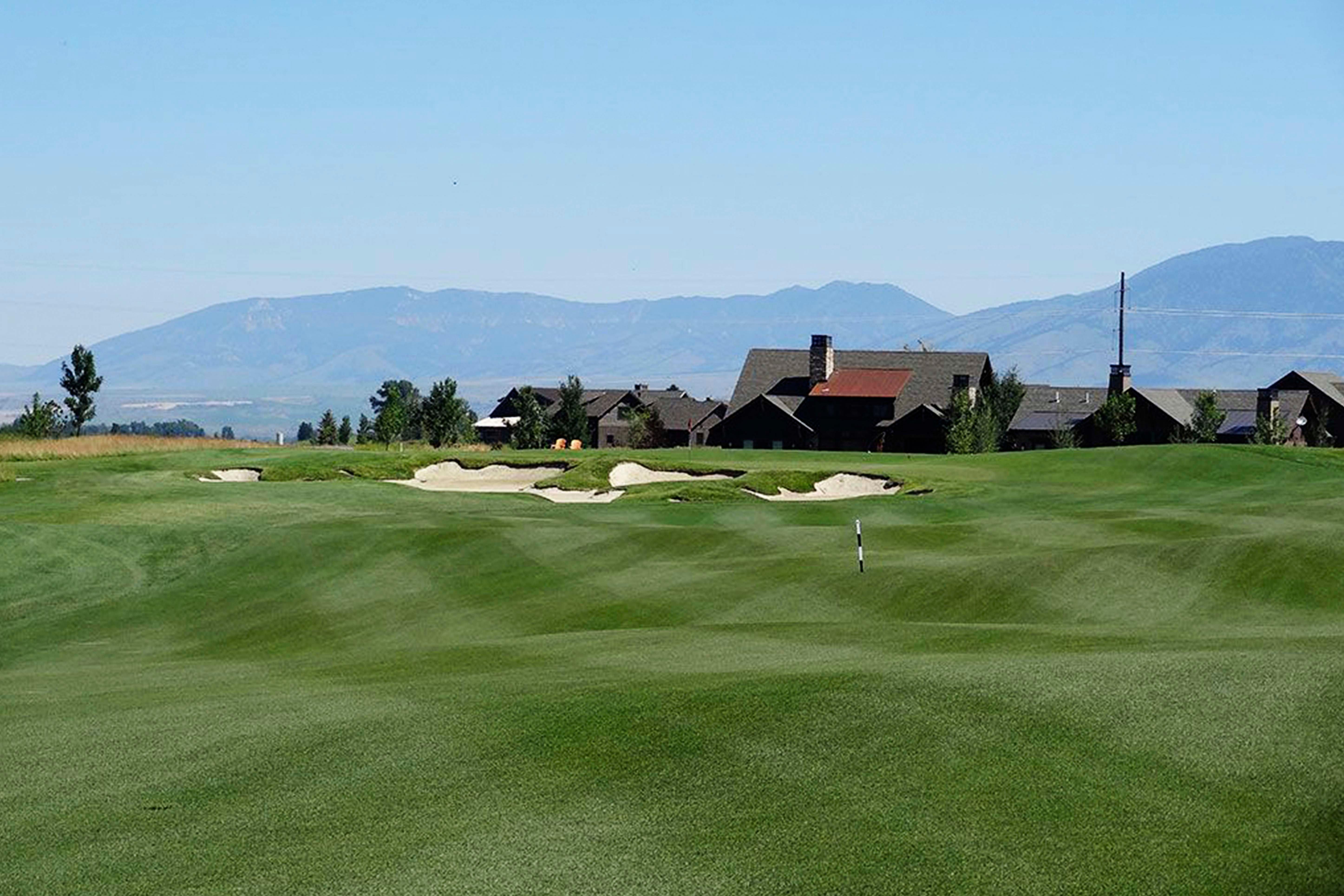 Black Bull Golf Course in Bozeman, Montana