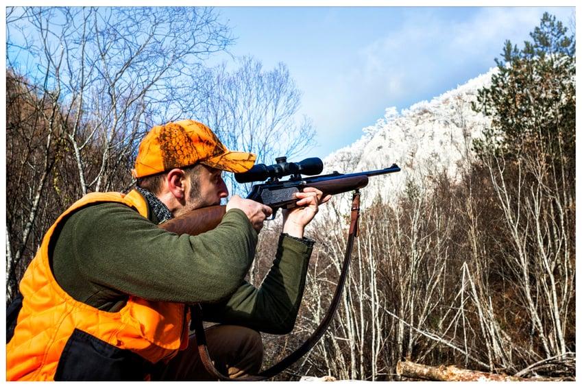man hunting