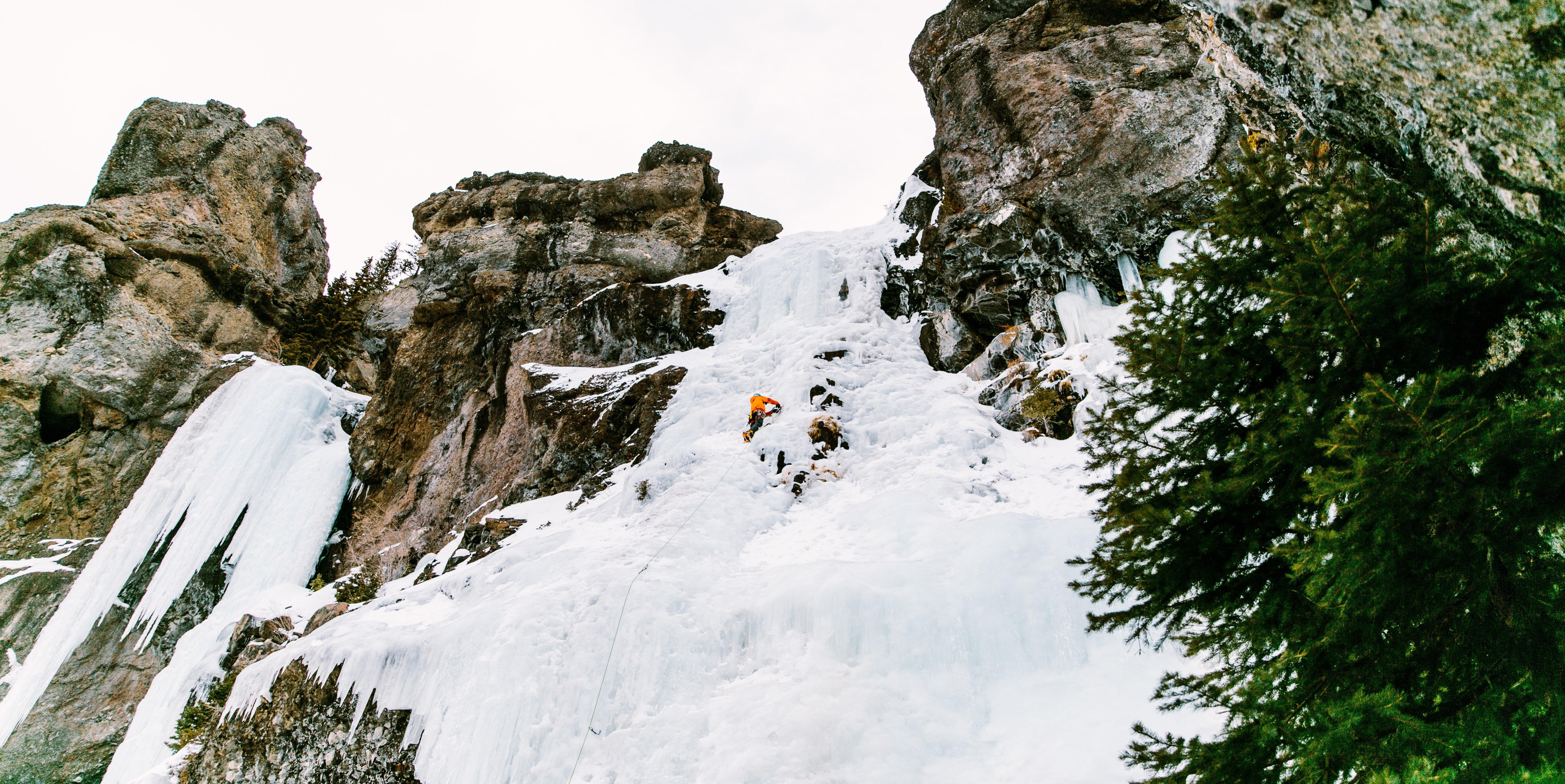Bozeman Ice Climbing