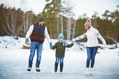 Ice Skating in Bozeman