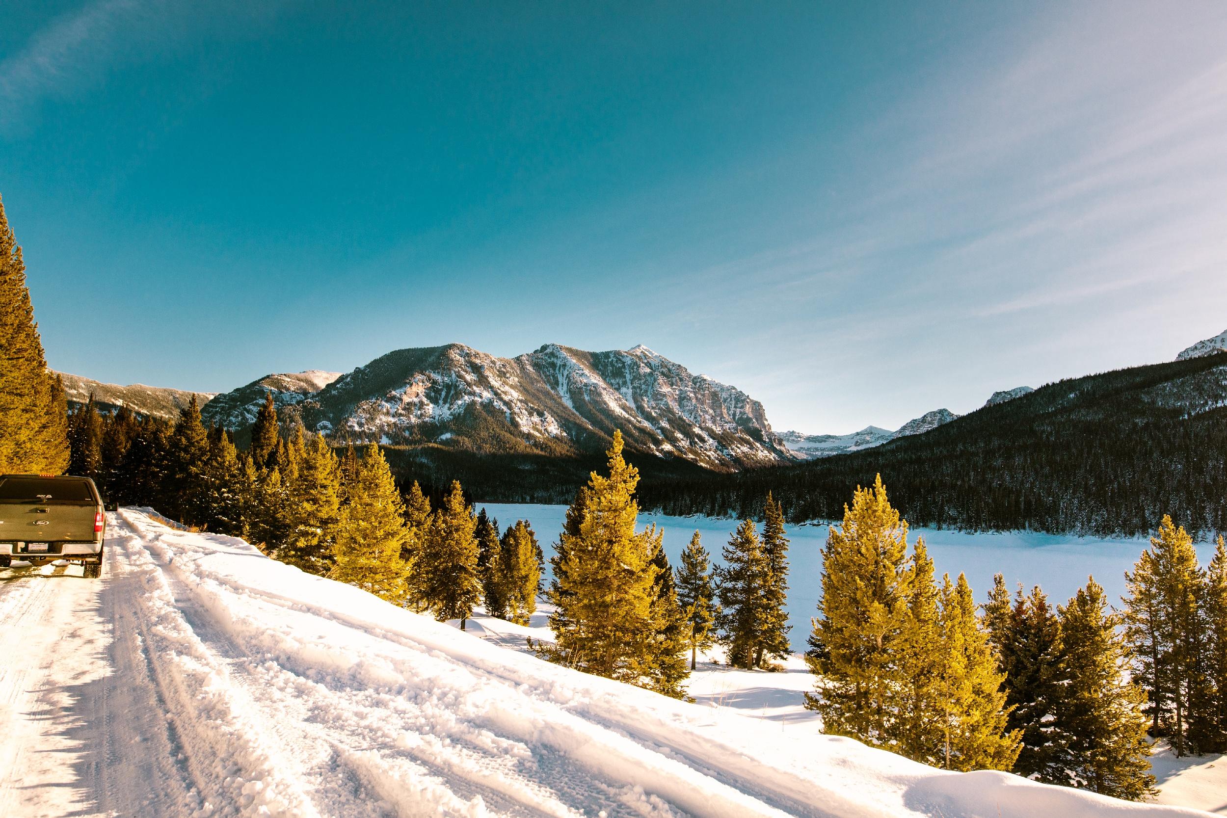 Scenic Winter Drives Around Bozeman