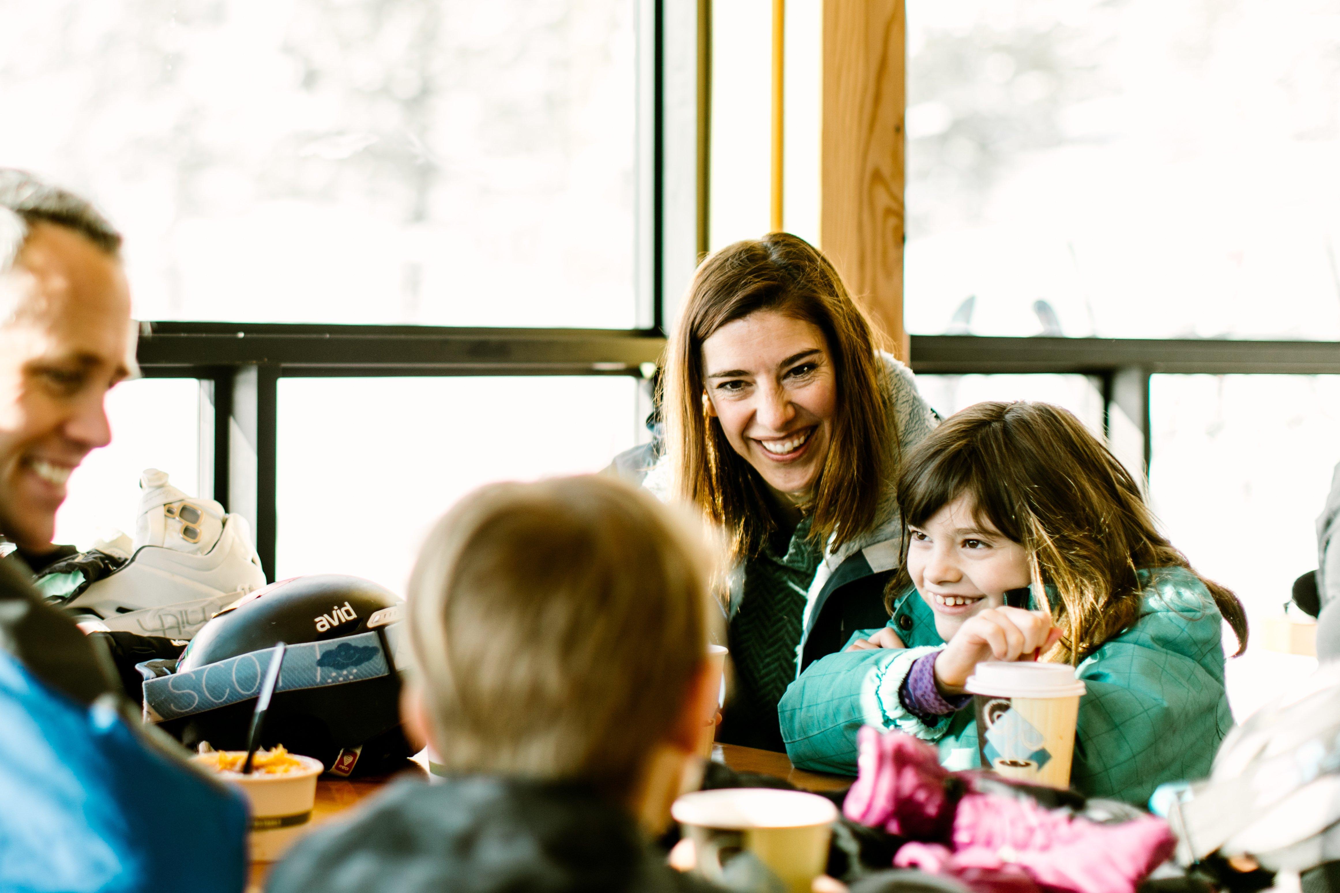 Family Skiing in Bozeman