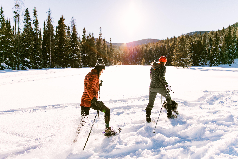 Snowshoeing around Bozeman