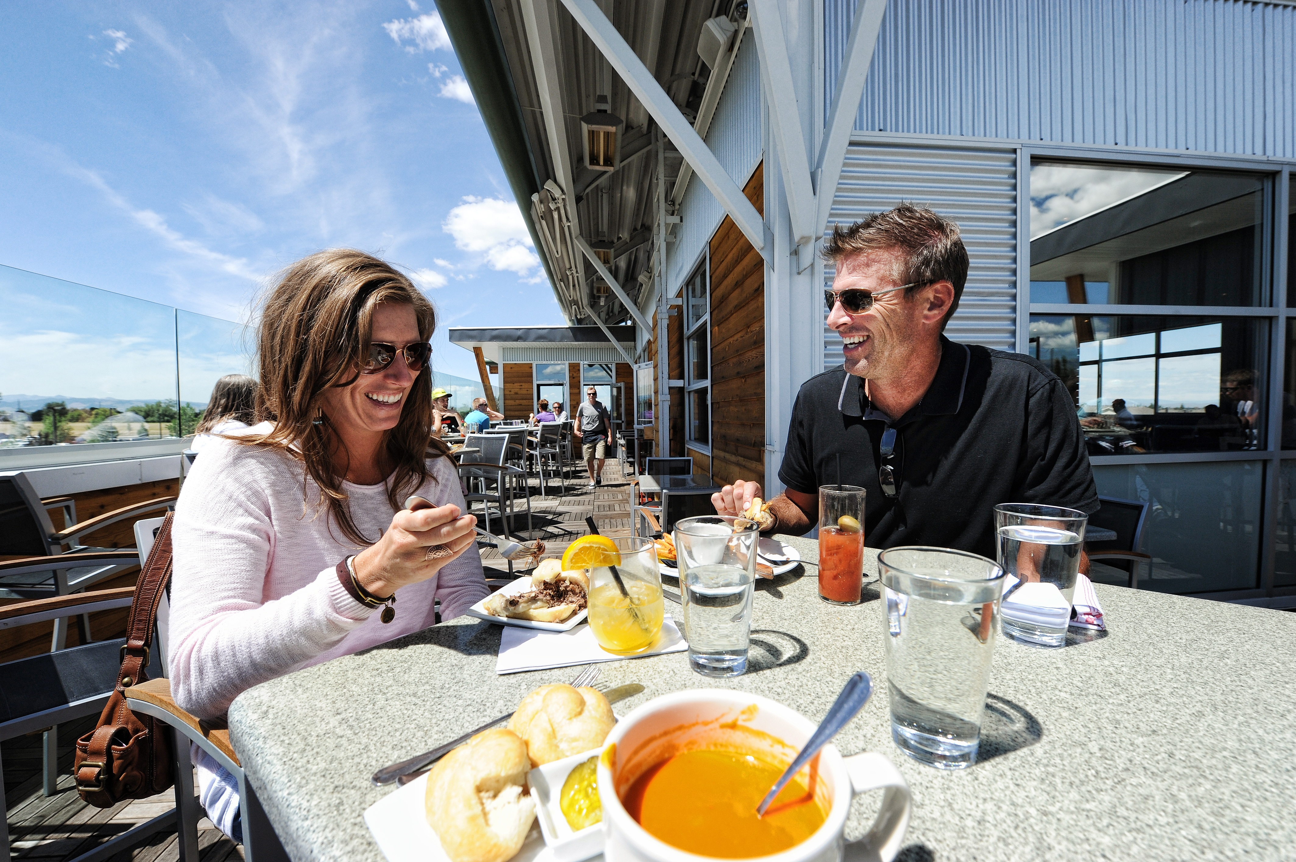 Patio Dining in Bozeman, Montana