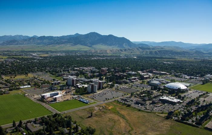Bozeman Montana aerial photo