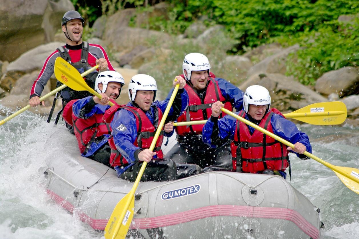 Guys trip - whitewater rafting