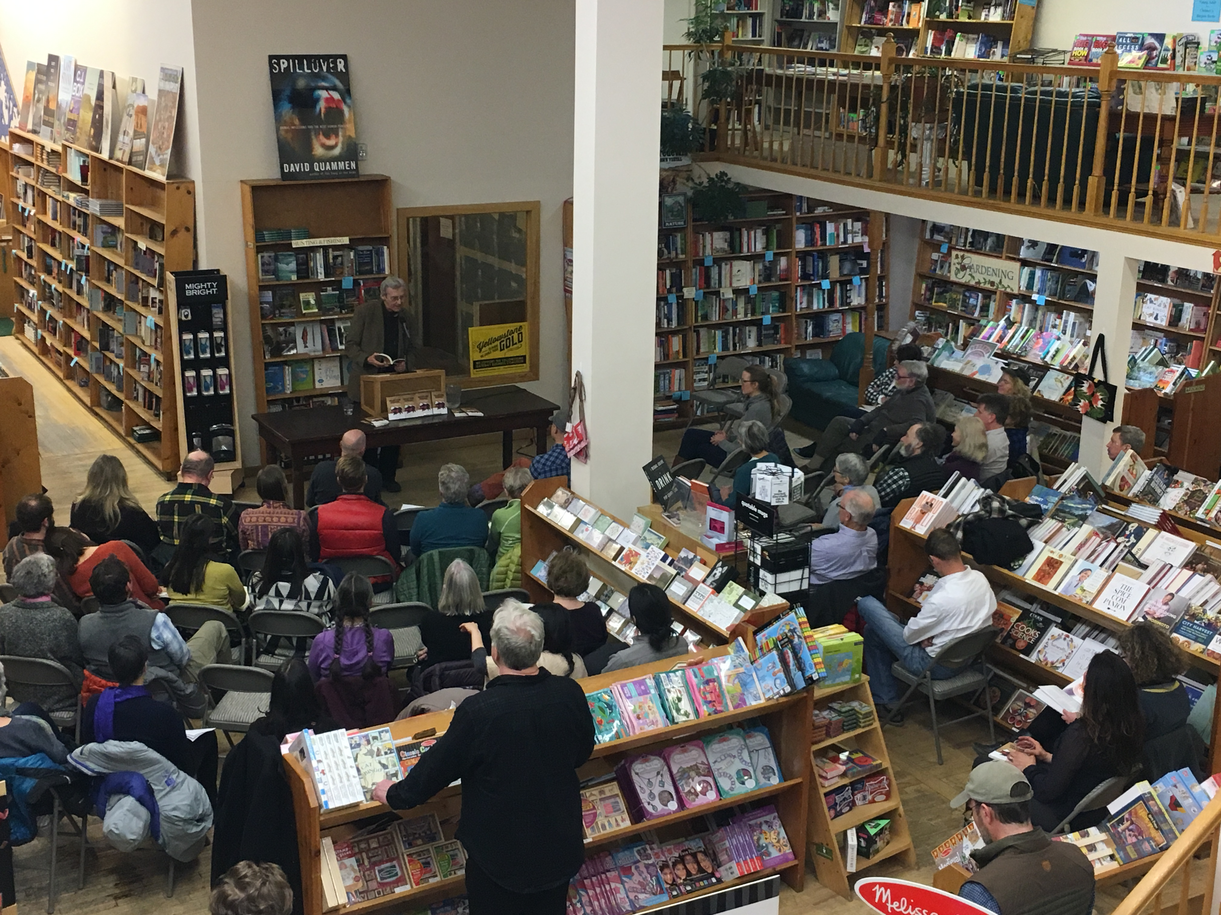 Author event at the Country Bookshelf
