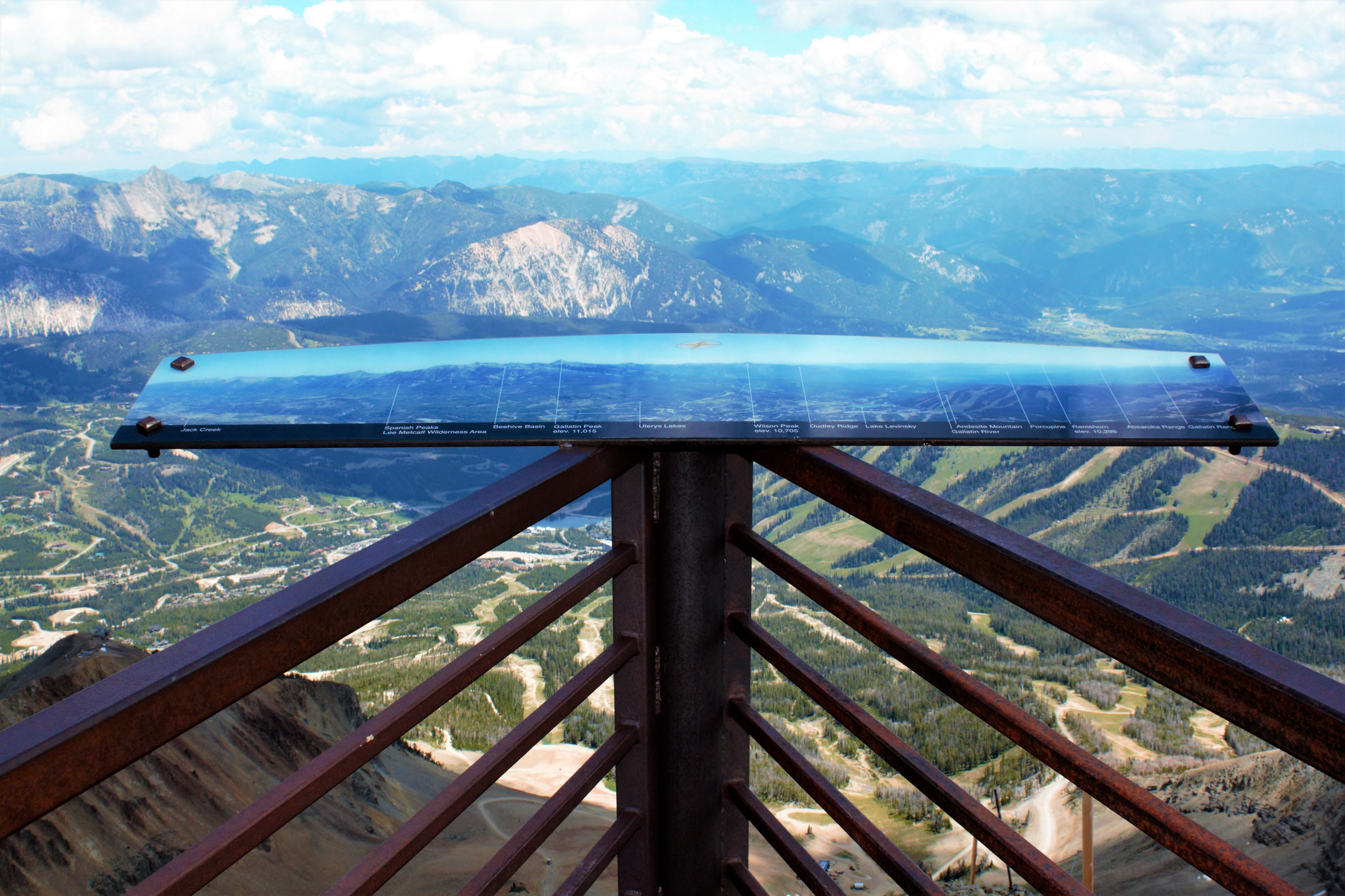 Lone Mountain Peak Viewing Area