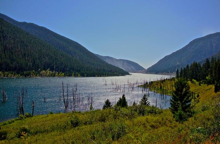 Quake Lake Montana