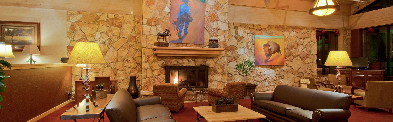 Inside the Bozeman Holiday Inn