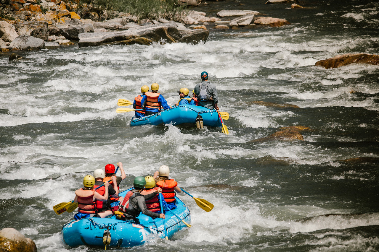 whitewater rafting in bozeman