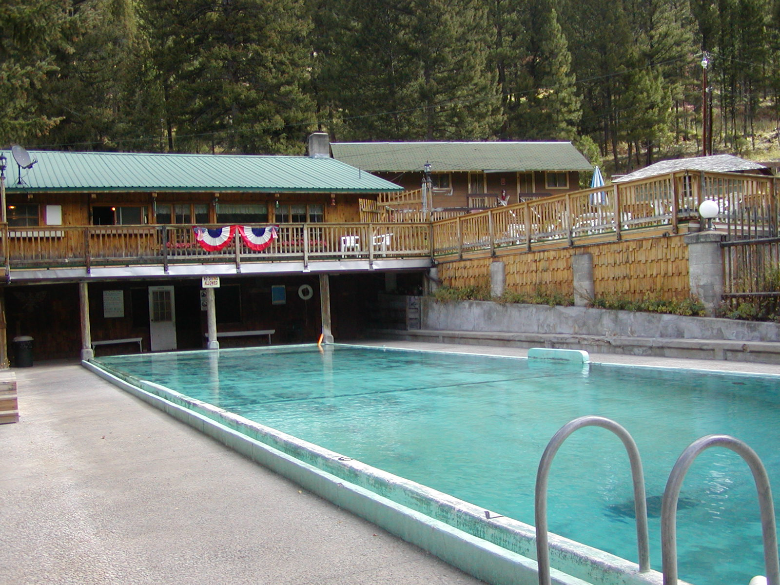 Lost Trail Hot Springs
