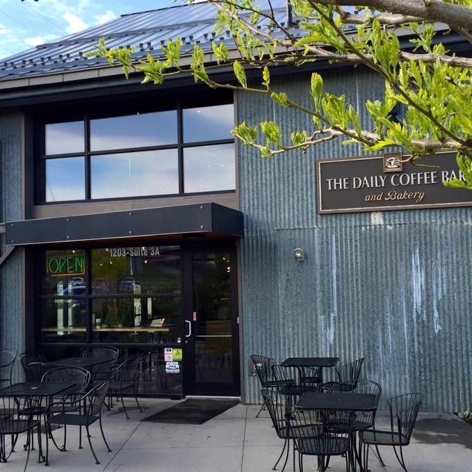 The Daily Coffee Bar Oak Street Location in Bozeman, Montana