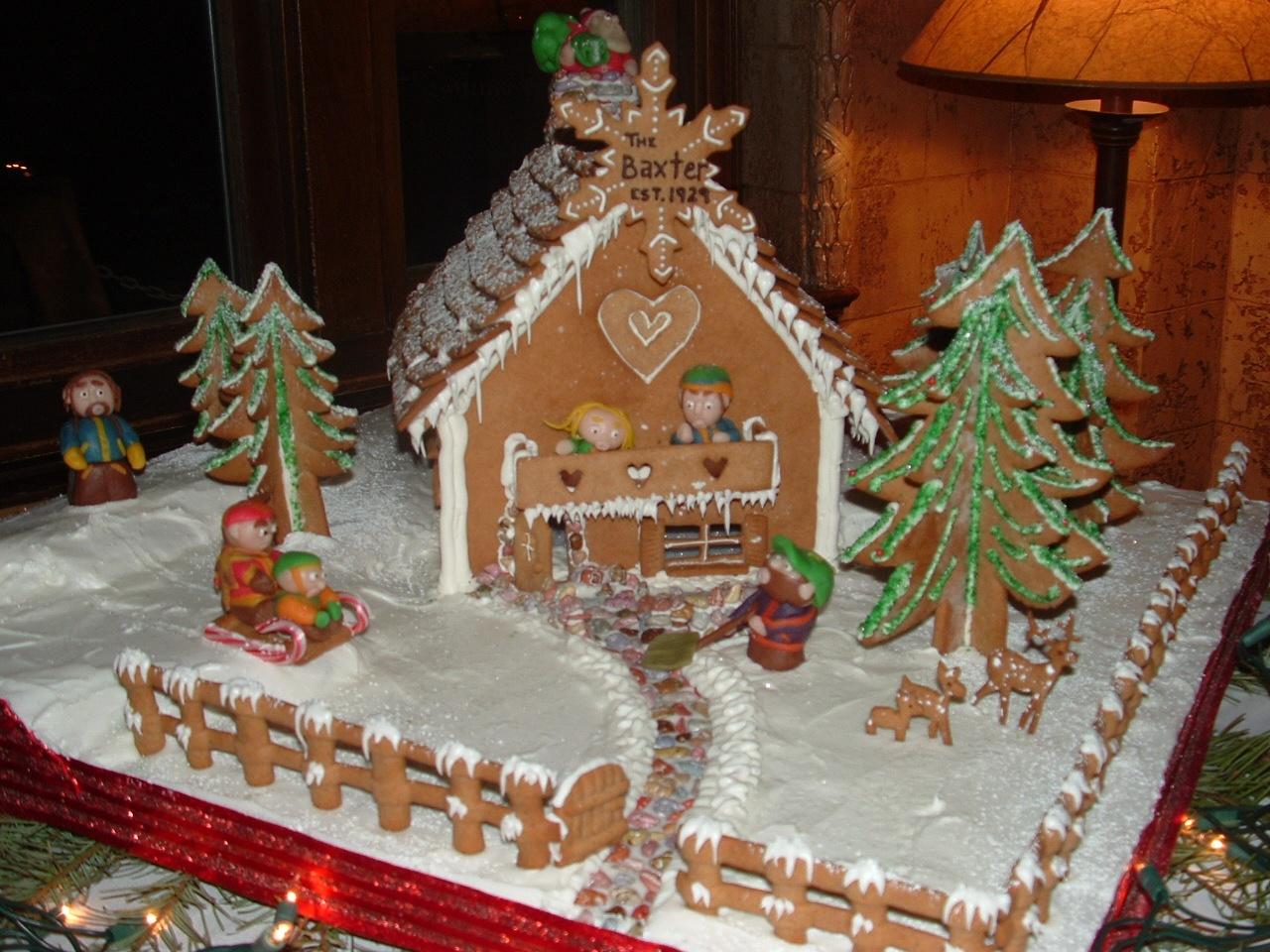 Bozeman Christmas Stroll Gingerbread House Contest
