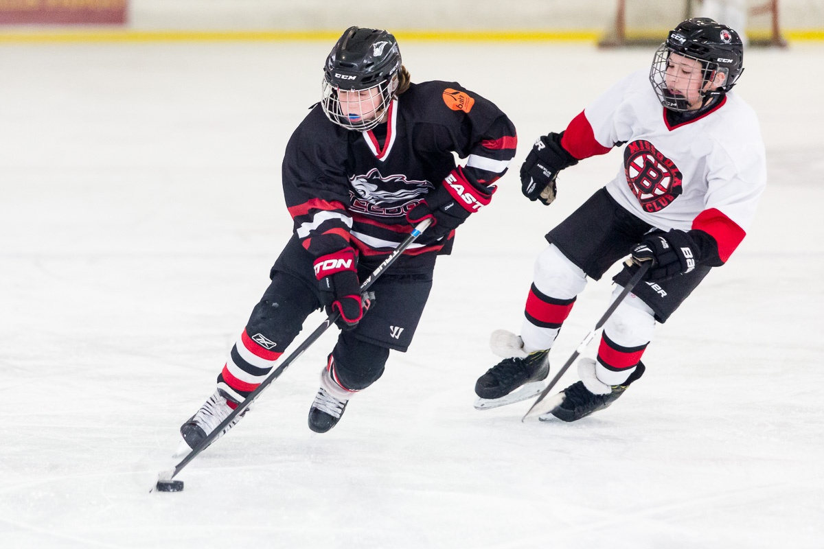 Young Icedogs Player Enjoys Hockey in Bozeman