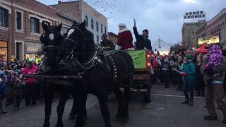 Wagon Ride Through Bozeman Christmas Stroll