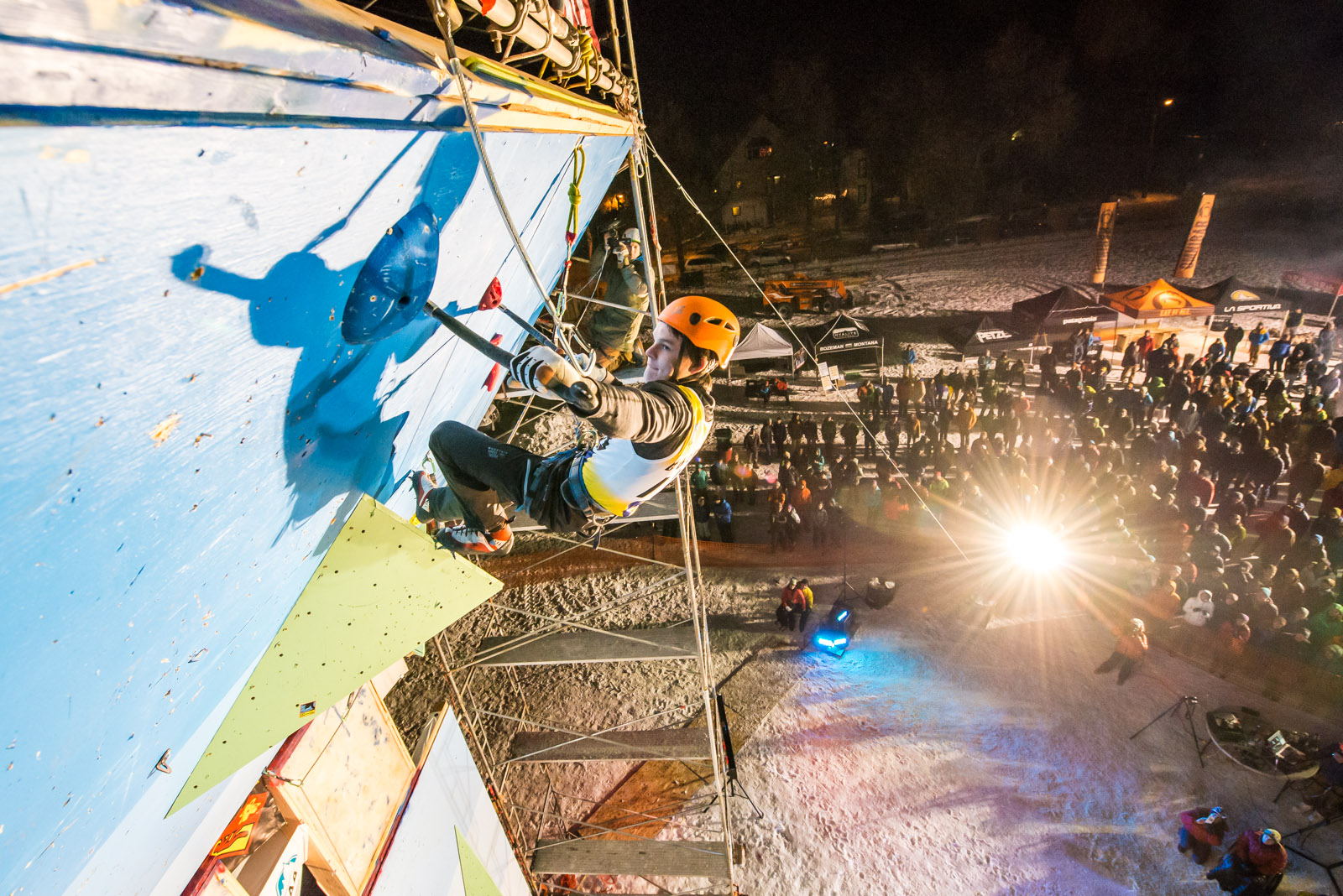 Enjoy a Different December Event with the Bozeman Ice Festival