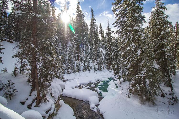 Bozeman photos in the winter