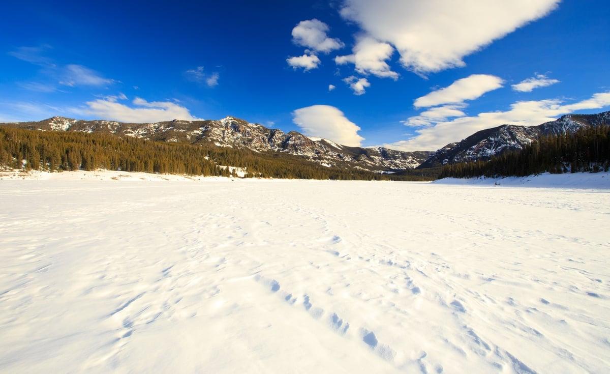 Bozeman in the Winter
