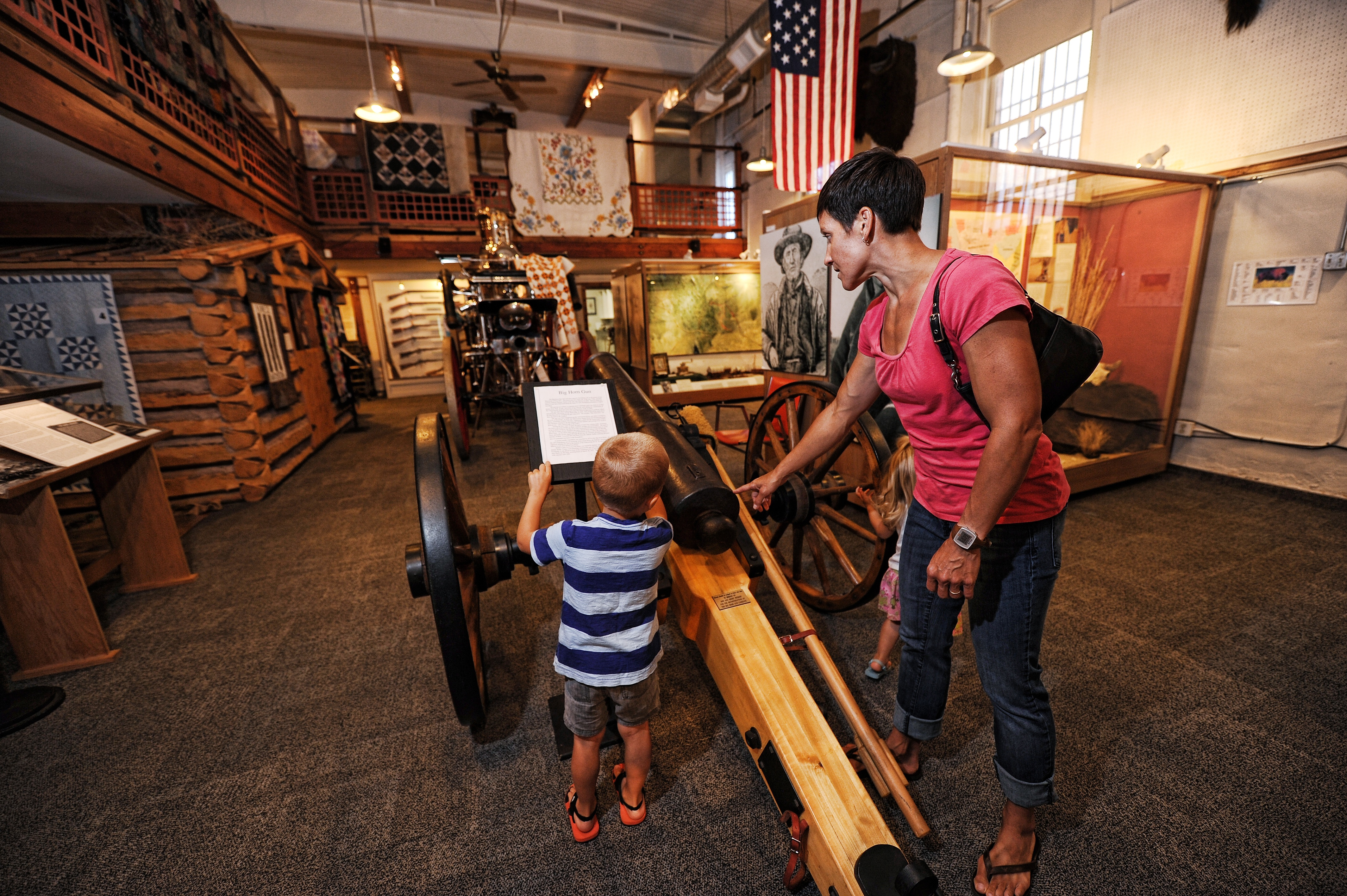 Inside the Gallatin History Museum