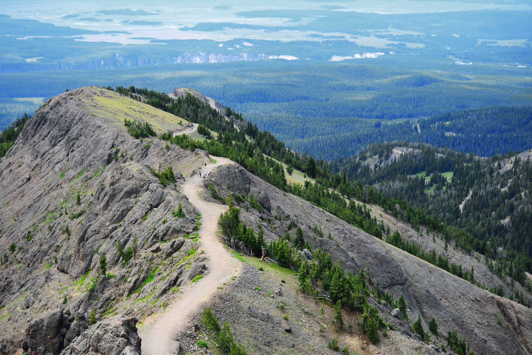 Scenic HIkes in Yellowstone National Park