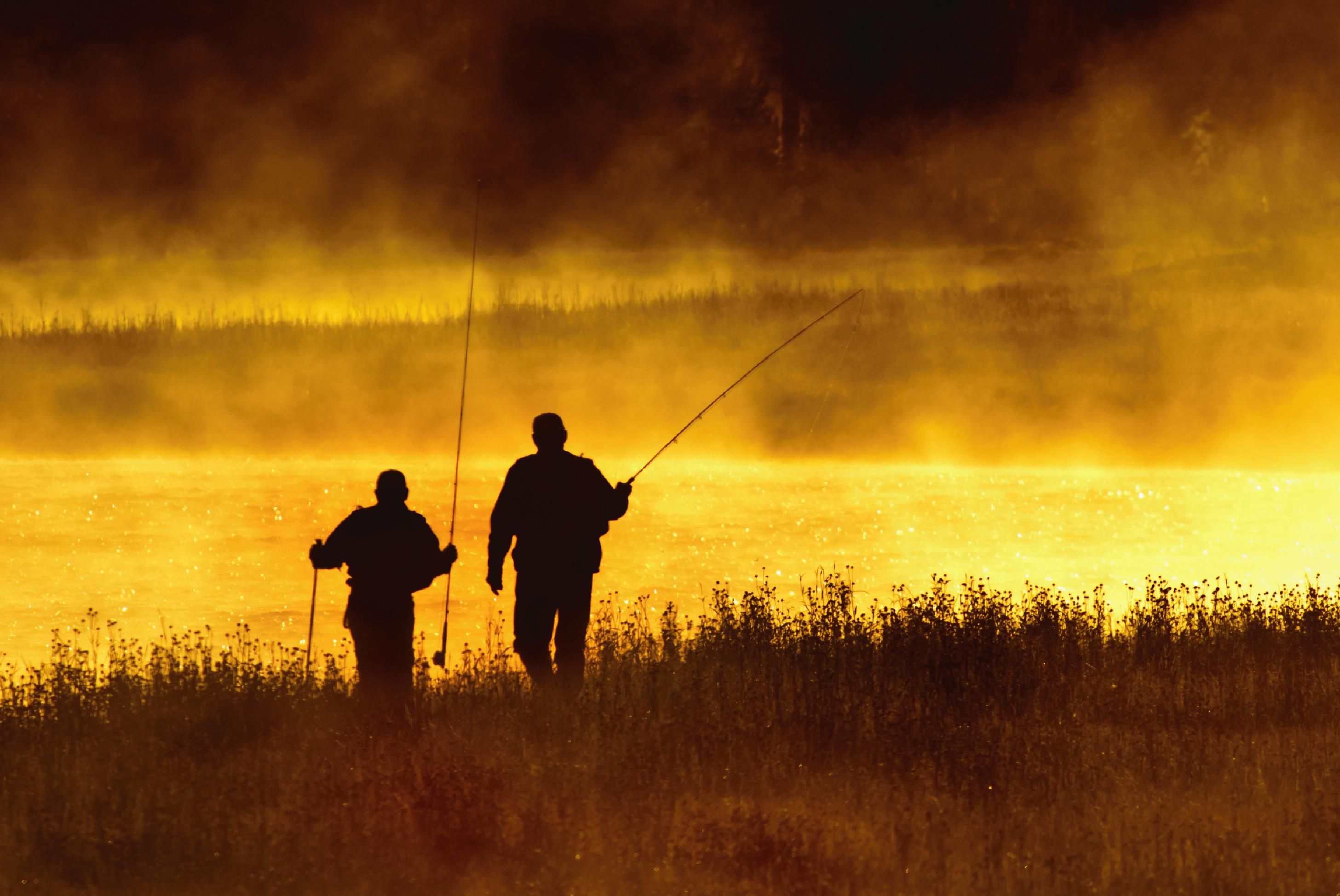 fishing near yellowstone