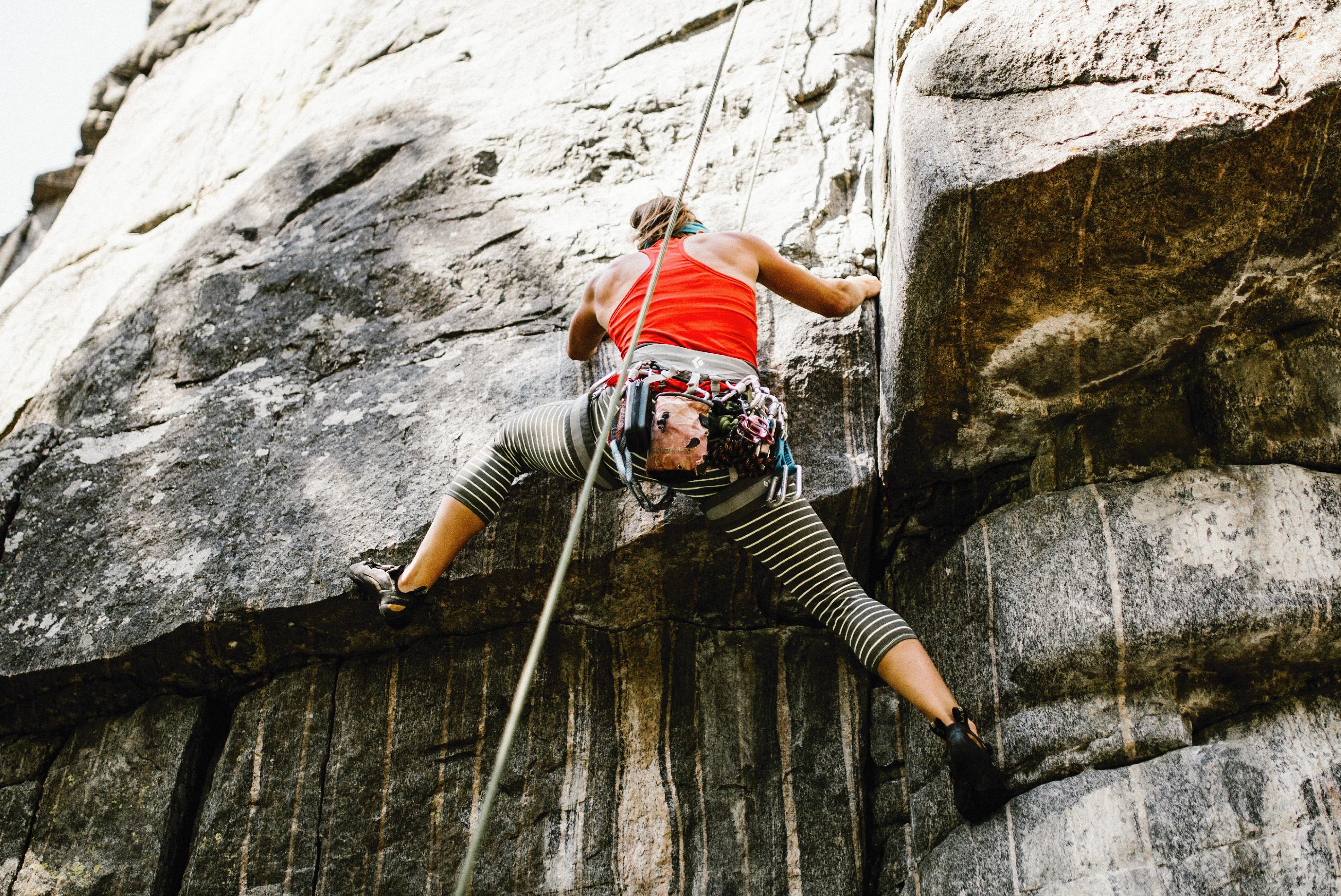rock climbing in bozeman, montana