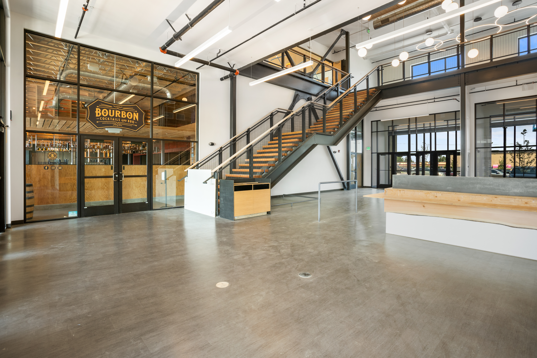 Inside the new Aspen Crossing building in Midtown Bozeman
